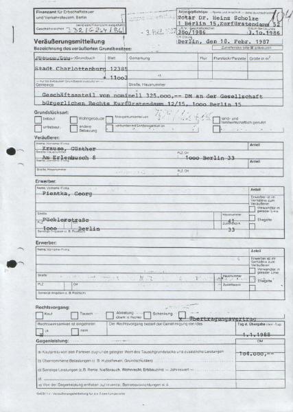 Berühmt FA für Erbschaft-, Verkehrsteuern VT07